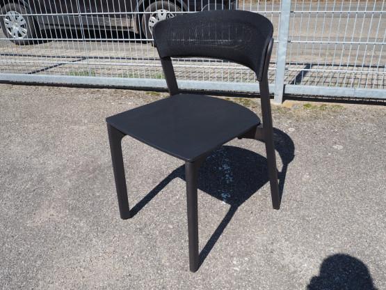 ARCO Café Chair Buche schwarz - wie NEU!