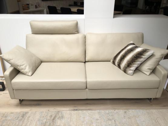 COR Sofa CONSETA, Leder quarz