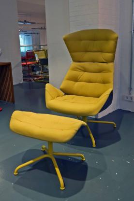Thonet | Lounge Sessel 808 | Farbe Soul Pepper gelb
