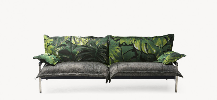 Outdoor Sofa Iron Maiden von Moroso