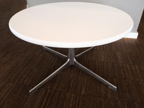 ARPER Couchtisch Fred 65cm rund weiß