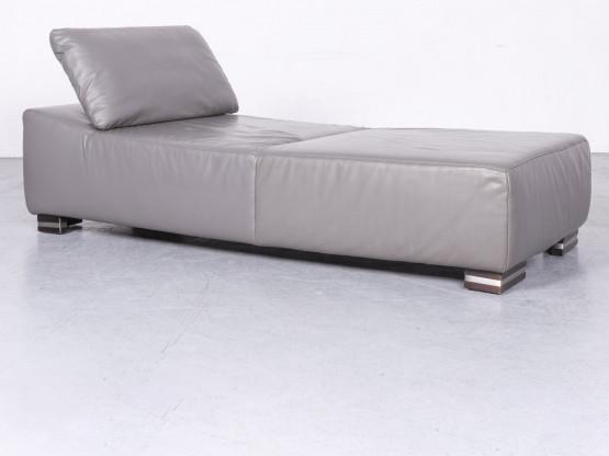 Ewald Schillig Designer Leder Liege Echtleder Couch 6718