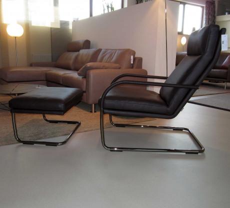 George Lounge - Sessel mit Polstersitz von Walter Knoll