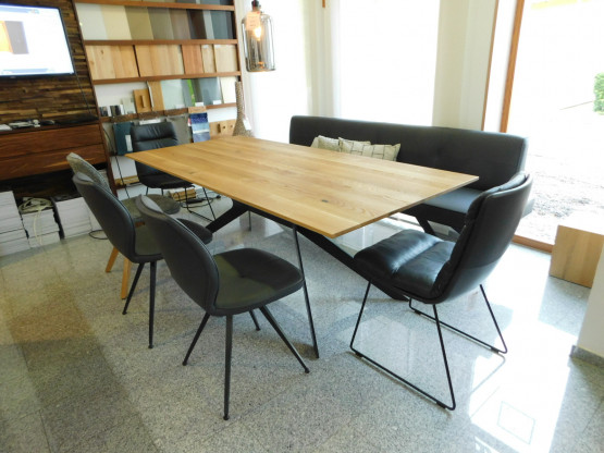 Anrei Stuhl 730 Stoff Asteiche Designermobel Hohentengen