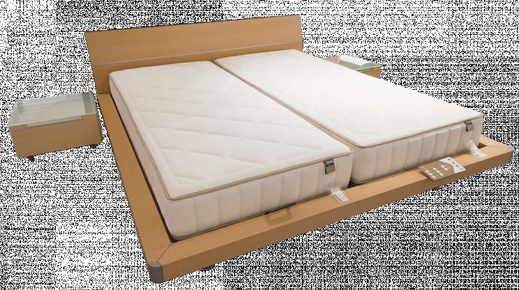Doppelbett von Auping