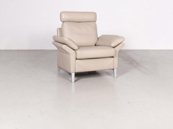 rolf benz designer leder sessel beige echtleder stuhl 7725 designerm bel k ln l venich. Black Bedroom Furniture Sets. Home Design Ideas