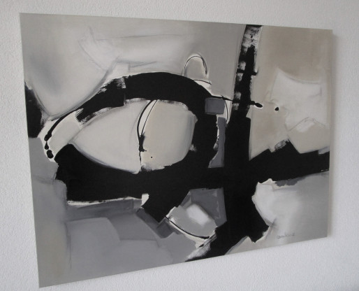 RECOIL / Painting by Dorothee Winkler