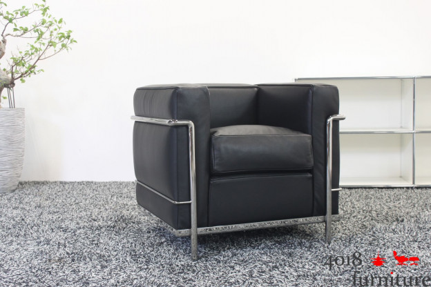 Cassina LC 2 Sessel Le Corbusier