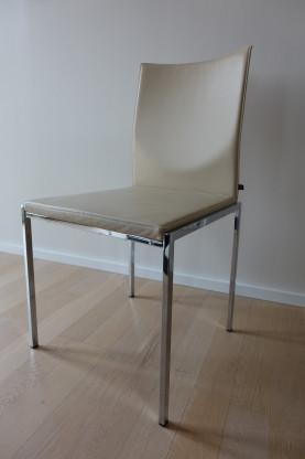 Esstisch Stühle kff nivo stuhl esstisch stühle leder chrom 1 8 stück