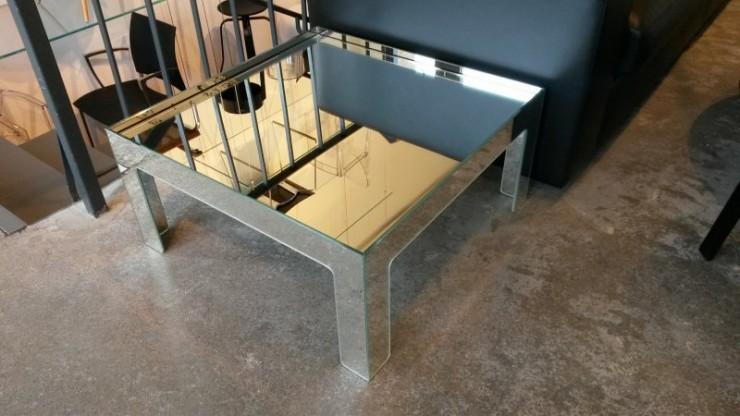 Sofatisch Glas Italia, Modell: Mirror Mirror (MIR06)