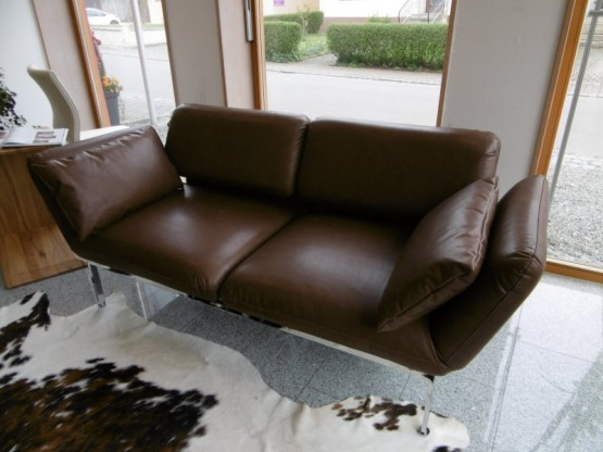 Brühl Sofa Roro medium in Leder Gaucho
