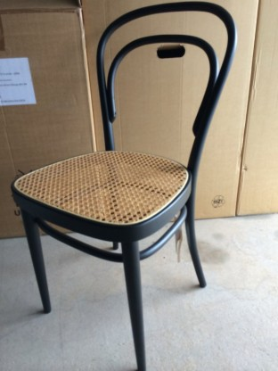 THONET Stuhl 214 schwarz