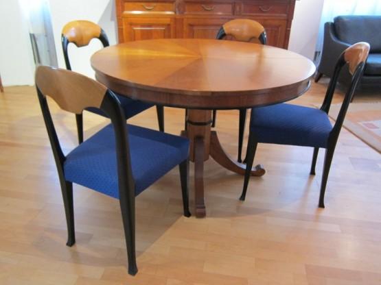 4 Stühle Tiffany, Kirschbaum von Dieter Knoll