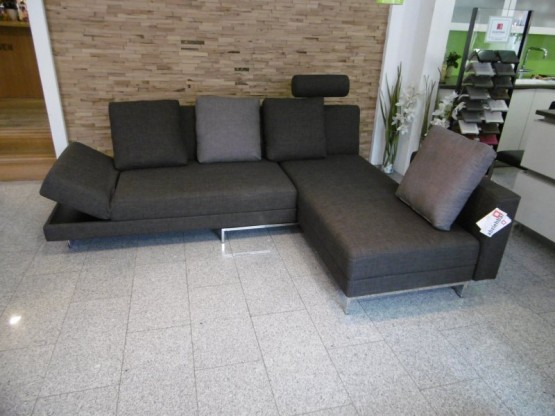 Brühl Sofa Four Two in Stoff braun