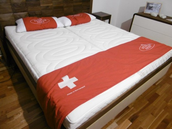 Hüsler Nest Schlafsystem de Luxe 90x200 cm