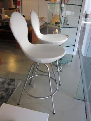 Barstühle Weiß 2 barstühle eight varier leder weiß designermöbel sindelfingen