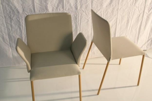 MORE CORBO Stuhl mit Armlehnen (1x)