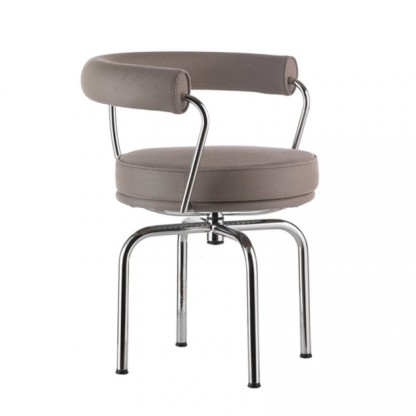 Cassina LC7 Outdoor Drehsessel, Farbe: TAUPE
