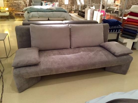 Schlaf Bett Sofa ...der Design-Querschläfer mit Be...