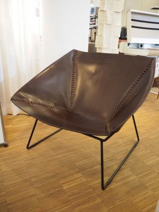 OX Sessel Stich Chair Kernleder