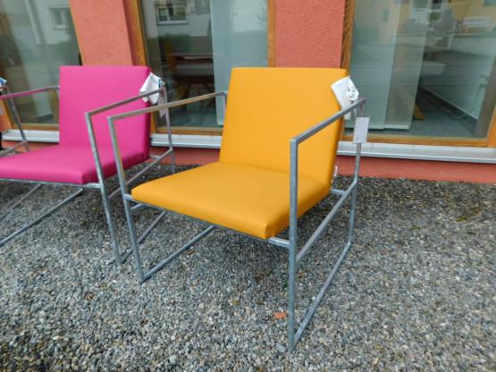 Brühl Outdoorsessel Sessel Grace wetterfest gelb