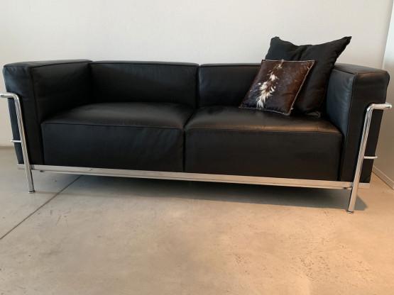 Le Corbusier Lc3 2 Sitzer Sofa Designermöbel Herrsching