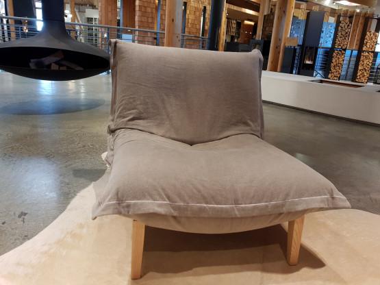 CALIN Sessel mit fester Rückenlehne