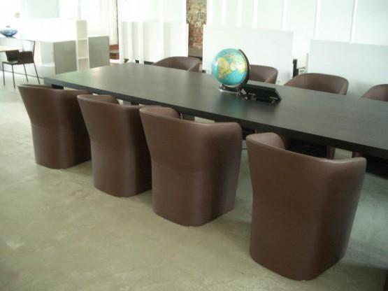 Stato Xxl Konferenztisch Aus Massivholz 450 Cm Designermöbel Hamburg