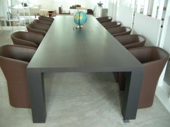 STATO XXL Konferenztisch aus Massivholz 450 cm
