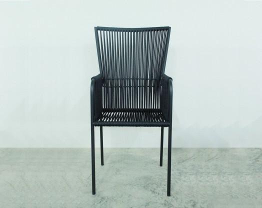 Stuhl Les Copains medium schwarz