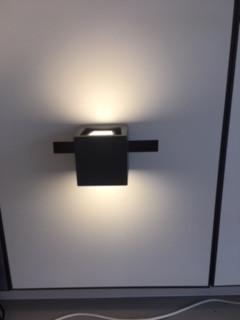 IP44 Outside Lighting  gap Q Wandleuchte  Space Grey