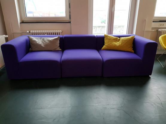Designermöbel Frankfurt hay mags 3 sitzer sofa designermöbel frankfurt