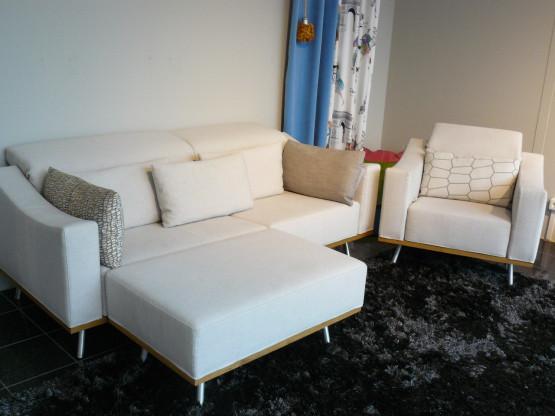 B&S Sofa-Sessel-Kombination