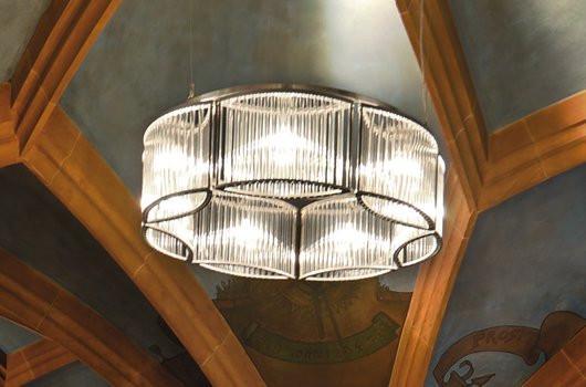 Kronleuchter Stilio 800, Licht im Raum