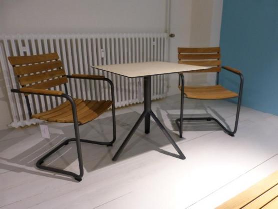 Gartenstühle Prato mit Klapptisch Trio von Weishäupl