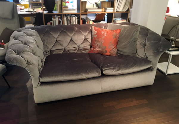 Bohemian Sofa von Moroso in Samt