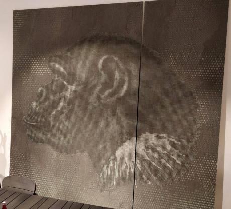 Deko Paneele mit Tapeten von Elitis und Wall&Deco