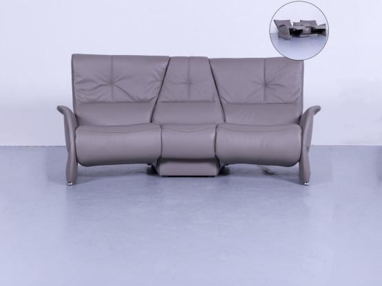 Himolla Designer Trapez Sofa Grau Zweisitzer Kino Sessel Couch ...