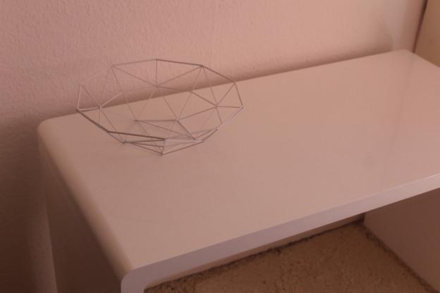 Kare Design White Club Schreibtisch - weiß&hochglanz