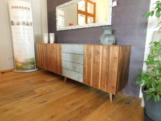 amazing anrei sideboard puro stone in astnuss with sideboard nuss