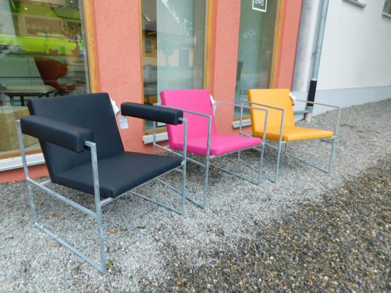 Brühl Outdoorsessel Sessel Grace wetterfest schwarz