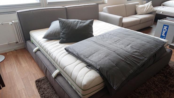 """Doppelbett """"Brick"""" mit Bettkasten"""