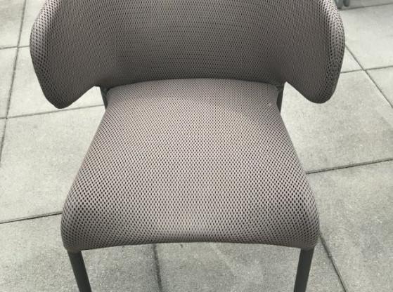 Gartenstühle (4 Stück) Double Roda Polyester Stoff