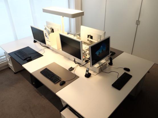 VITRA Joyn Plattform 320x180cm weiß