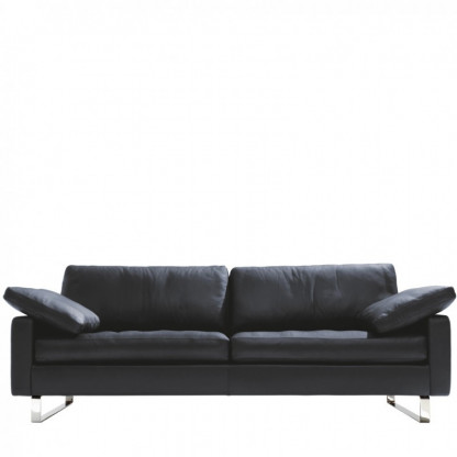 Sofa CONSETA Leder schwarz von COR
