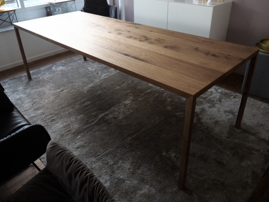 MDF ITALIA Tisch Tense Material Eiche...
