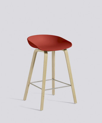 Barhocker About A Stool AAS32 low von HAY