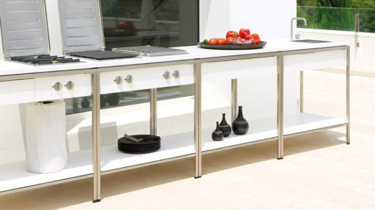 Outdoor Küche Viteo : Outdoor kitchen von viteo designermöbel köln