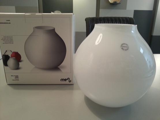 Glas-Vase BALL von Menu