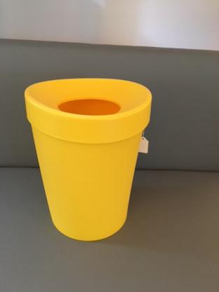 Happy Bin Mülleimer Vitra - gelb